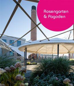 Rosengarten und Pagoden