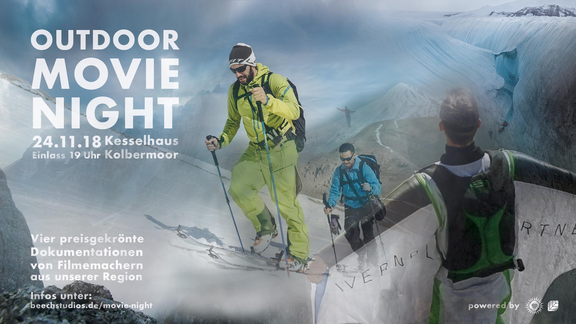Events an der Alten Spinnerei: Ankündigung Outdoor Movie Night