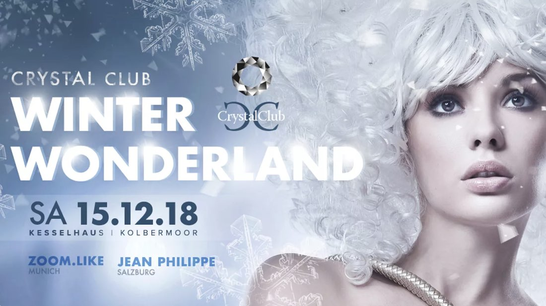 Events an der Alten Spinnerei: Crystal Club - Winter Wonderland
